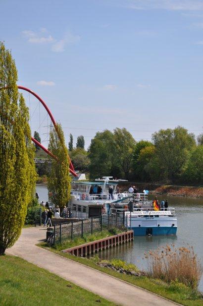 KanalErwachen 2018 mit 5. Schiffsparade KulturKanal  Darstellung 11