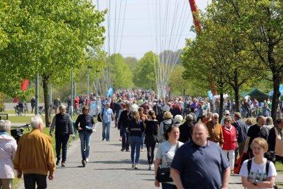 KanalErwachen 2018 mit 5. Schiffsparade KulturKanal  Darstellung 17