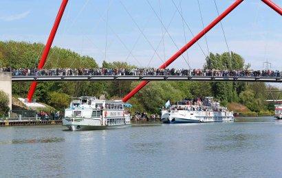 KanalErwachen mit Schiffsparade KulturKanal  Darstellung 25