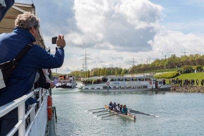 KanalErwachen 2018 mit 5. Schiffsparade KulturKanal  Darstellung 5