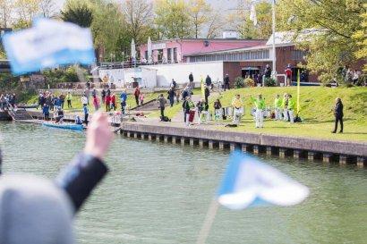 KanalErwachen mit Schiffsparade KulturKanal  Darstellung 13