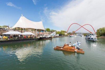 KanalErwachen 2018 mit 5. Schiffsparade KulturKanal  Darstellung 8