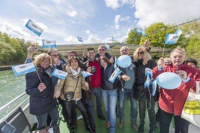 KanalErwachen 2018 mit 5. Schiffsparade KulturKanal  Darstellung 9