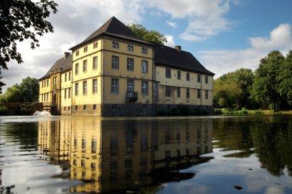Mittelalterfest im Schlosspark Strünkede in Herne