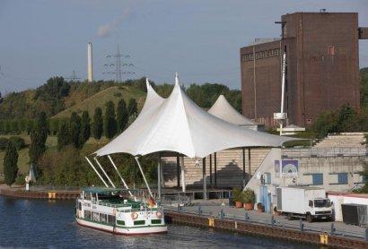 Linienschifffahrt zwischen GE-Nordsternpark und OB-Kaisergarten