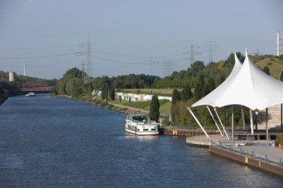 Start der Linienfahrten zwischen Nordsternpark und Kaisergarten