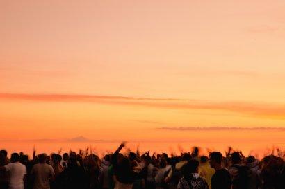 SunsetPicknick auf der Halde Hohewart