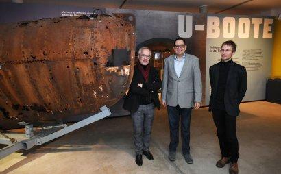 """""""U-Boote – Krieg und Forschung in der Tiefe"""" im LWL-Industriemuseum Schiffshebewerk Henrichenburg"""
