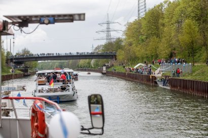 KanalErwachen 2019: Tag der offenen Tür bei der Bottroper Rudergemeinschaft