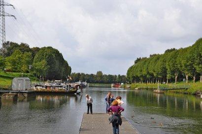 Anleger Alte Schachtschleuse Henrichenburg / Unterwasser