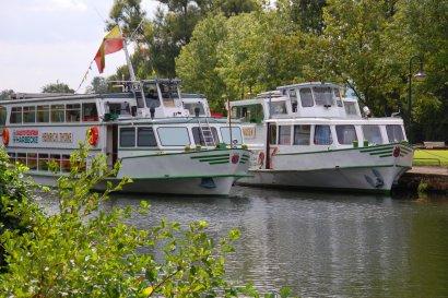 Mit der Weißen Flotte Mülheim nach Duisburg auf Erlebnistour