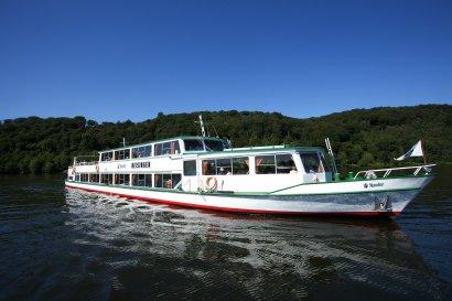 Fünf Schleusen-Fahrt vom Kanal zum Baldeneysee