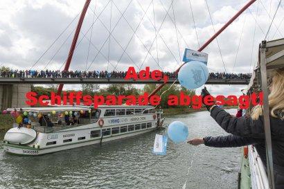 Absage Schiffsparade KulturKanal 26.04.2020